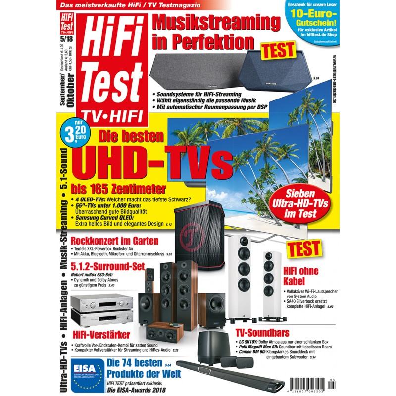 HIFI TEST TV HIFI 5/2018 (print)