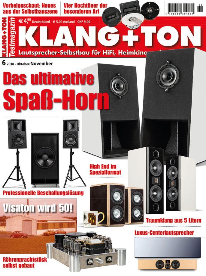 Klang + Ton 6/2018 (print)