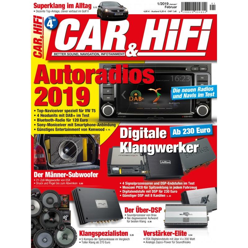 CAR&HIFI 1/2019 (print)