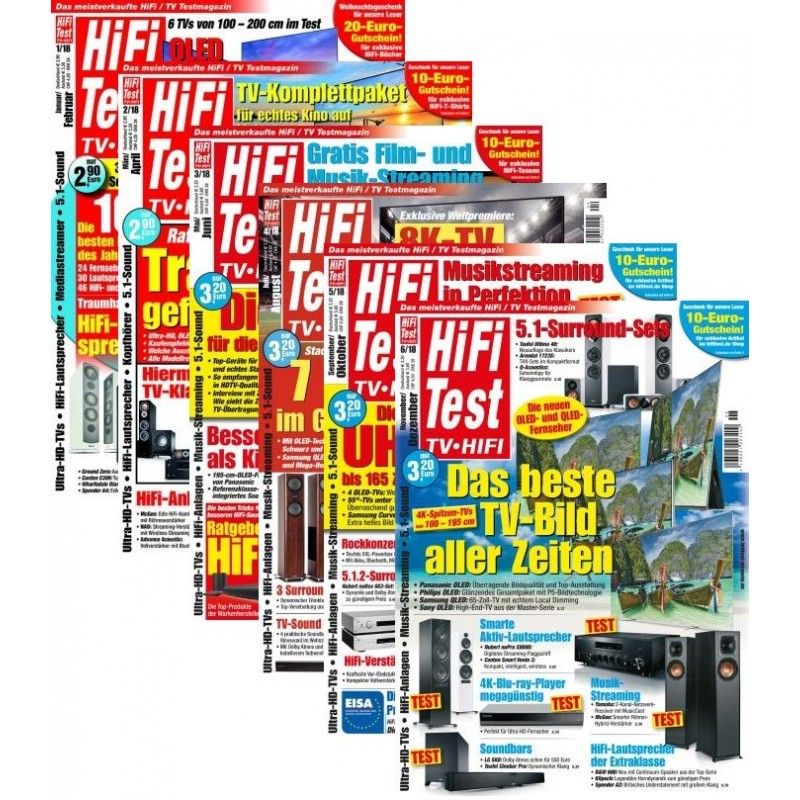 HiFi-Test - Heftarchiv 2018 (print)