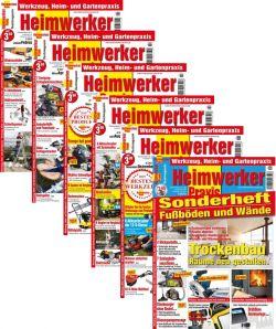 Heimwerker Praxis - Heft-Bundle 2018 (print)