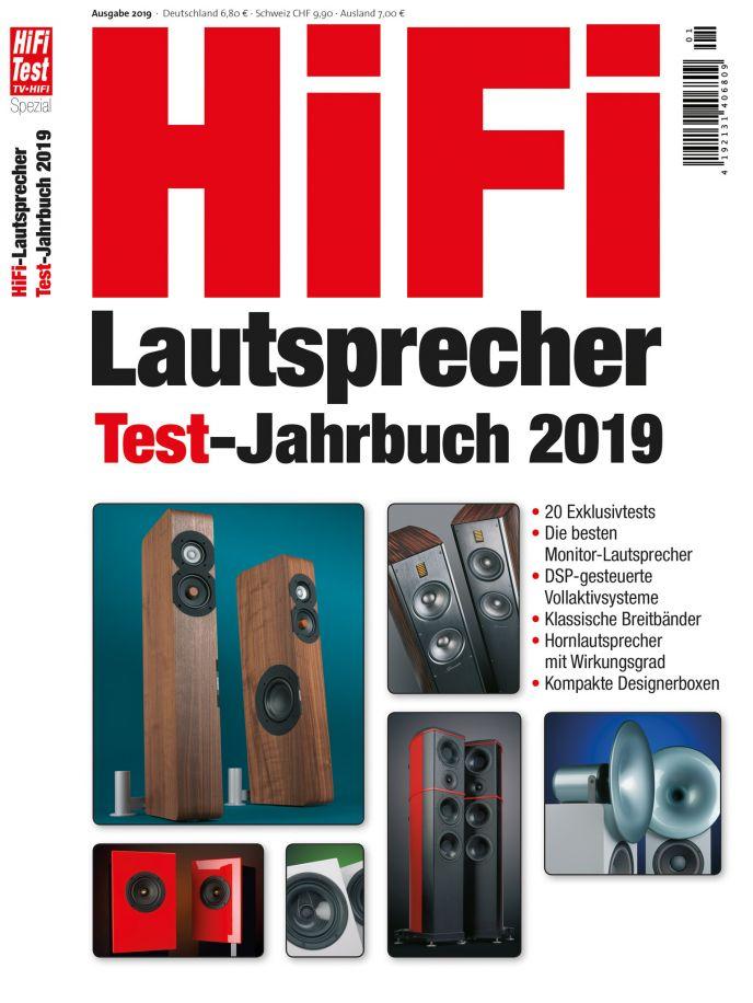 Hifi-Lautsprecher Test-Jahrbuch 2019 (print)
