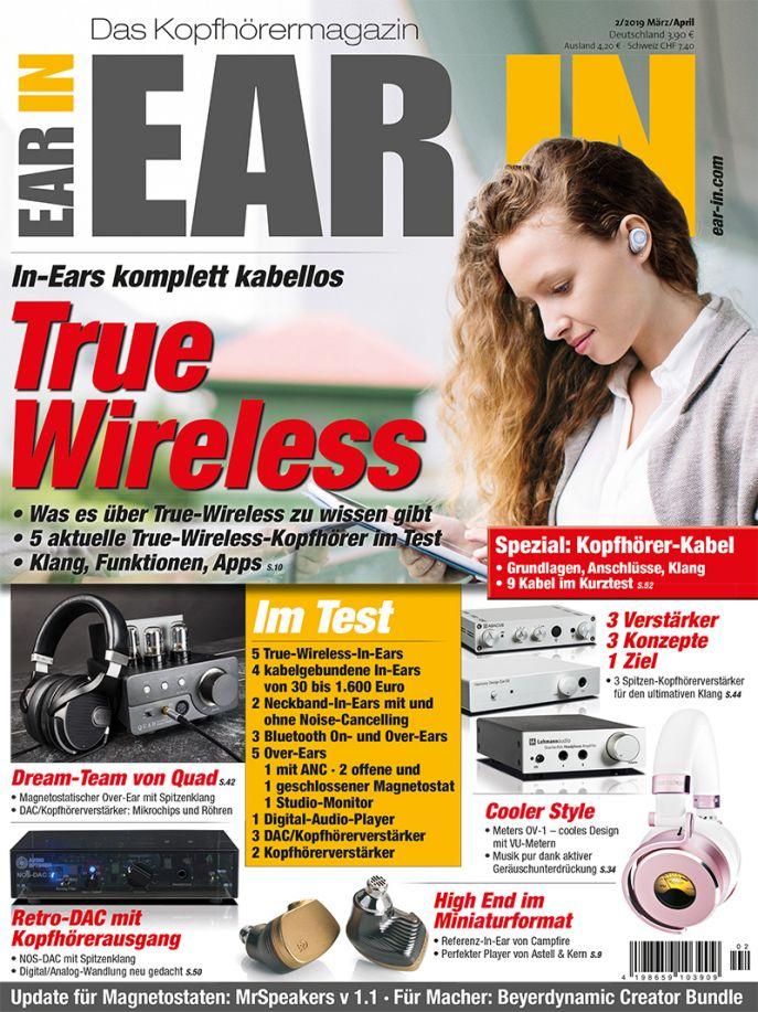 True Wireless – In-Ears komplett kabellos (print)