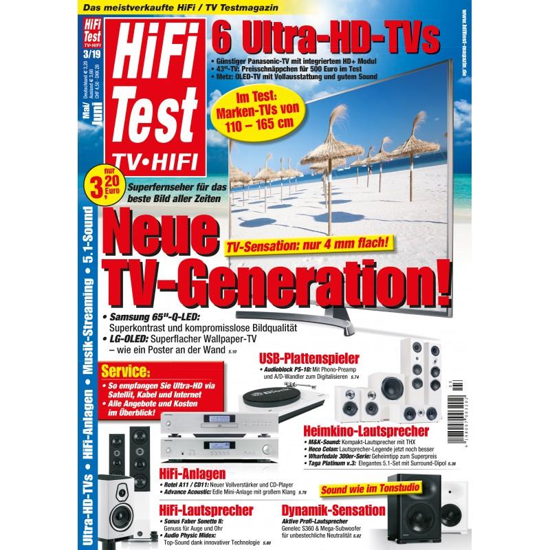 HIFI TEST Ausgabe 3/2019 (print)