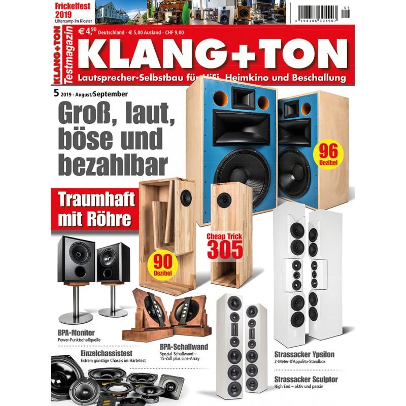 Klang+Ton Ausgabe 5/2019 (epaper)