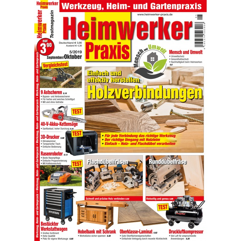 Holzverbindungen - Einfach und effektiv herstellen (epaper)