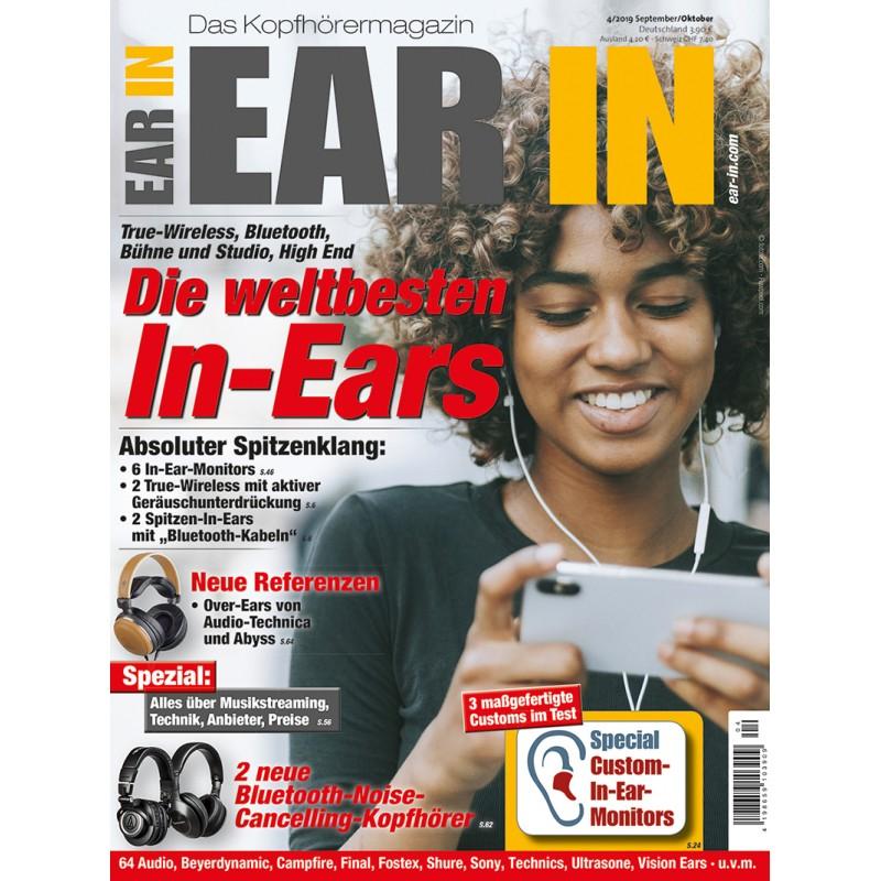 Die weltbesten In-Ears: True-Wireless, Bluetooth, Bühne und Studio, High End (print)