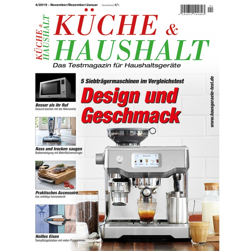KÜCHE&HAUSHALT 4/2019 (print)