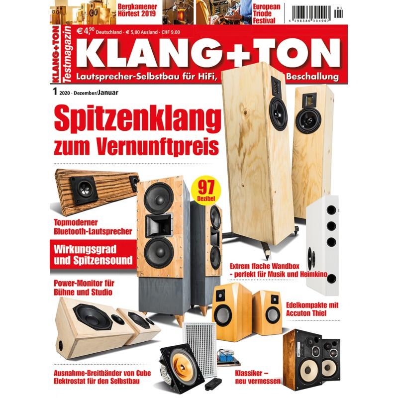 Klang+Ton Ausgabe 1/2020 (print)