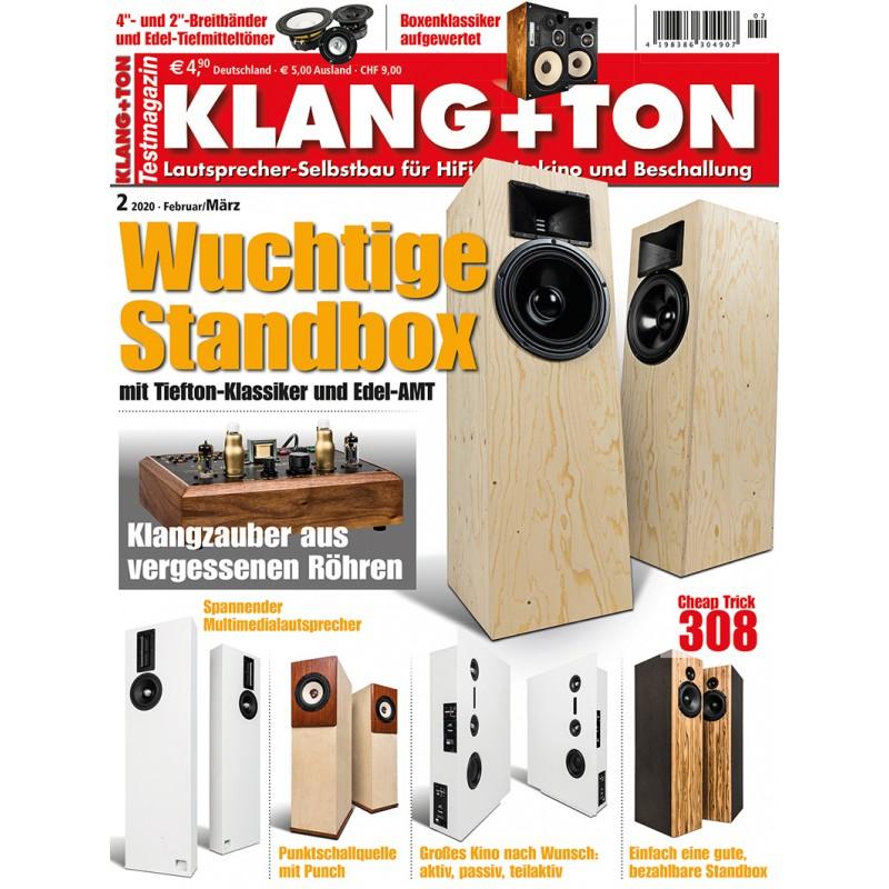 Klang+Ton Ausgabe 2/2020 (epaper)