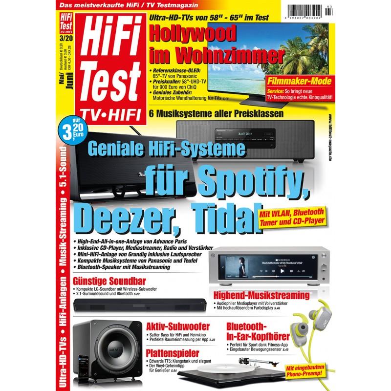 HIFI TEST Ausgabe 3/2020 (epaper)