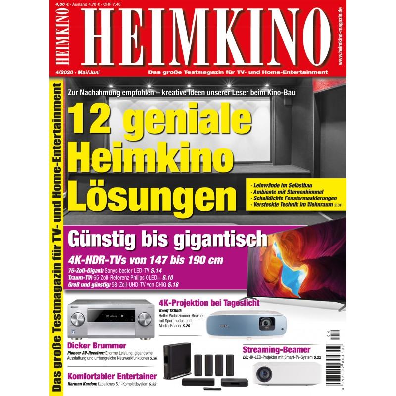HEIMKINO Ausgabe 4/2020 (epaper)