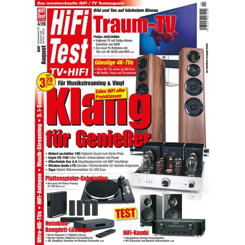 HIFI TEST Ausgabe 4/2020 (print)