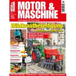 Wildkrautbeseitigung - Methoden und Maschinen (print)