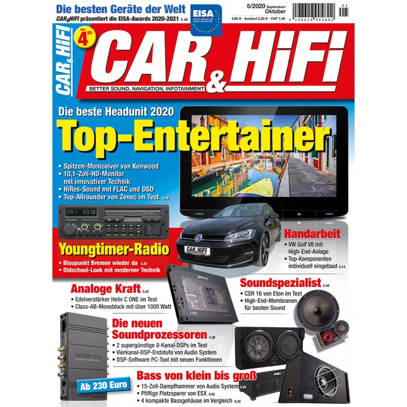 Car&HiFi Ausgabe 5/2020 (epaper)