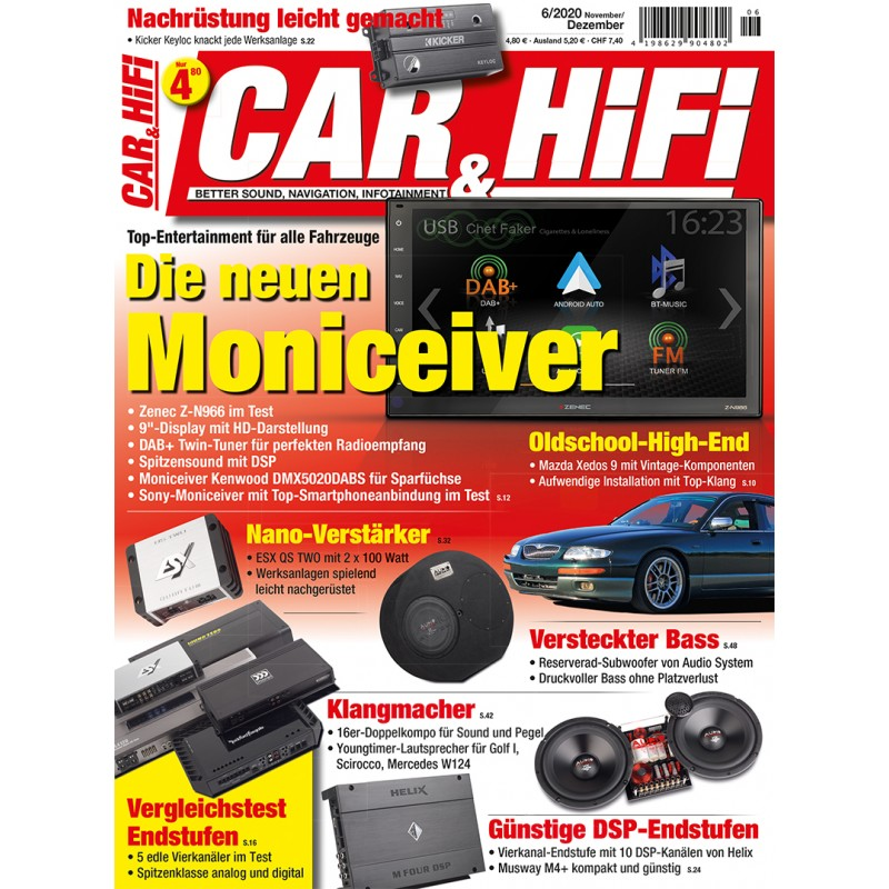 Car&HiFi Ausgabe 6/2020 (epaper)