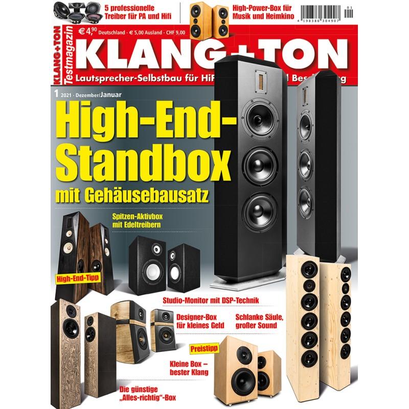 Klang + Ton 01/2021 (print)