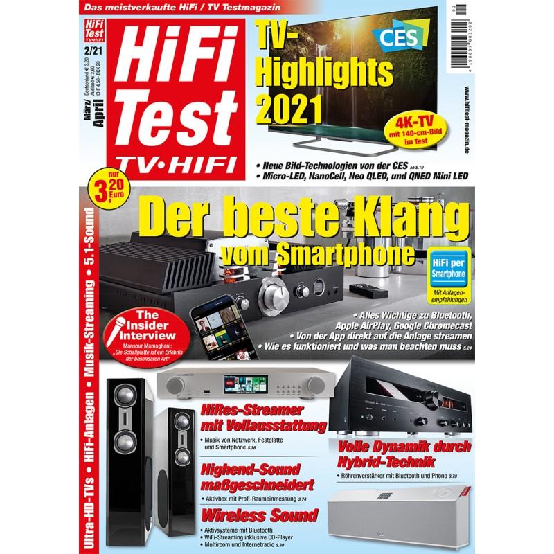 HIFI TEST Ausgabe 2/2021 (epaper)