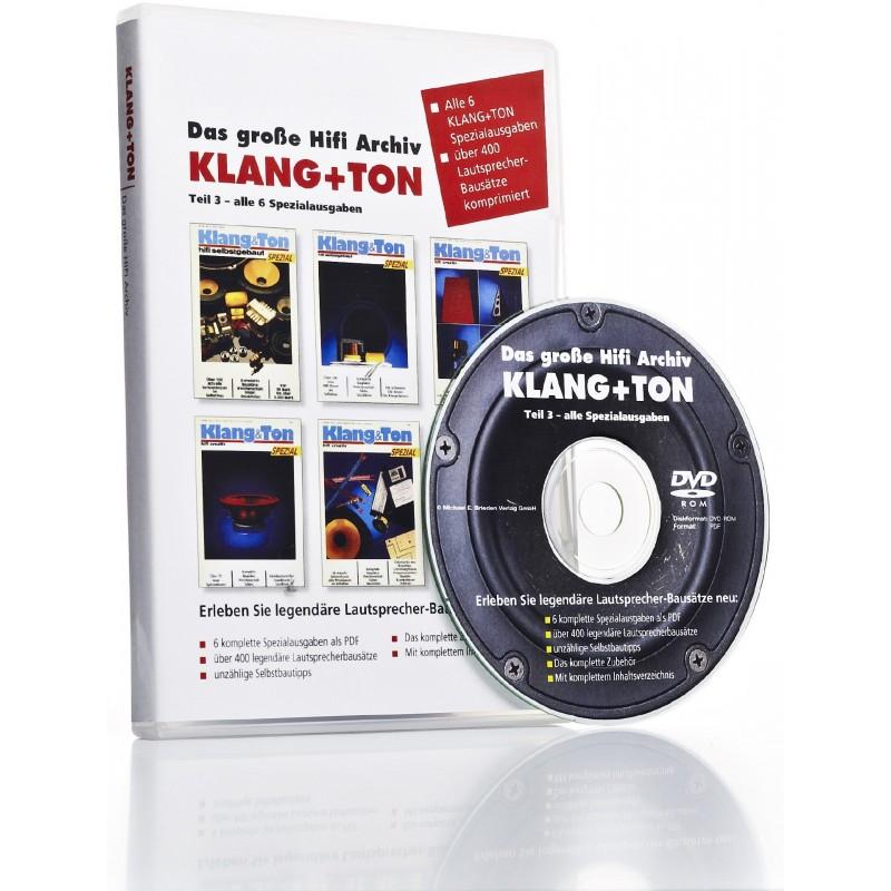 Klang+Ton HiFi-Archiv DVD 3: alle 6 Spezialausgaben