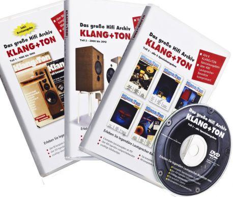 Klang+Ton Hifi-Archiv DVD-Set