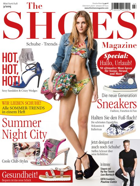 the shoes magazine 3 2015 print. Black Bedroom Furniture Sets. Home Design Ideas