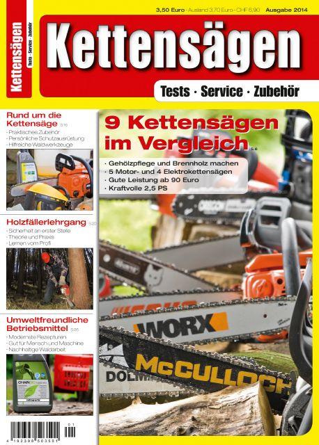 Kettensägen 01/2014 (Print)