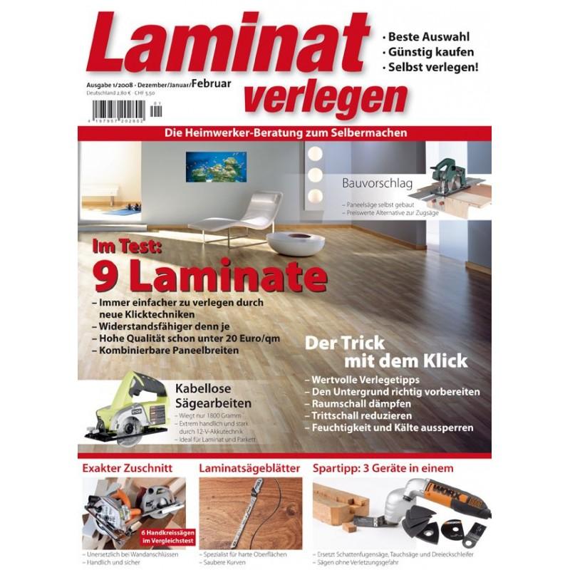 Laminat verlegen 01/2008 (print)